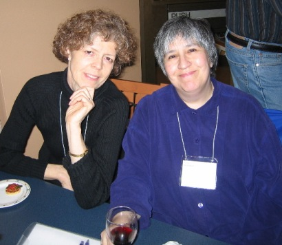 Susan and Maxine approve of the reception.