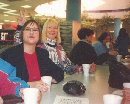 Anna, Christine, Sharon, Gisle