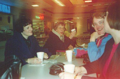 Barb, Marilyn B., Marilyn A., Anna